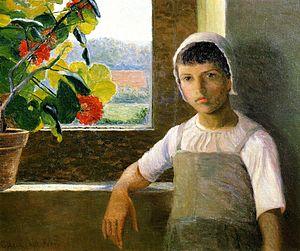 Lilla Cabot Perry - La Petite Angèle, II, 1889