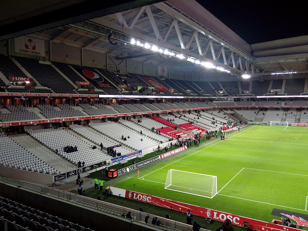 Stade pierre mauroy wikipedia for Stand lille