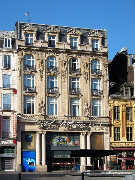 Fichier:Lille hotel bellevue.JPG