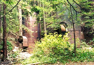 Limekiln State Park - Two of the limekilns for which the park is named