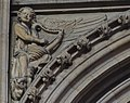 Lincoln Cathedral, Angel with a harp. (32262446415).jpg