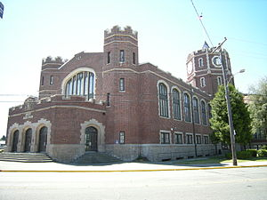 Frederick Heath (architect) - The English Collegiate Gothic style Lincoln High School in Tacoma