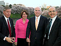 Lindsey Graham Amy Klobuchar John McCain and James Zumwalt 200904.jpg