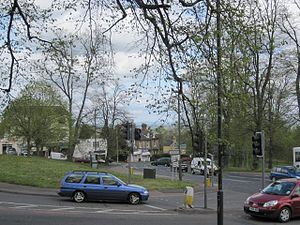Link Top - The main  road junction  at  Link Top