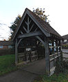 Little Berkhamsted, Hertfordshire, St Andrew's Church 18 - Lychgate from northeast.jpg
