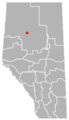 Little Buffalo, Alberta Location.png