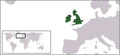 Położenie Wielkiej Brytanii