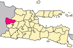 Ngawi Regency map
