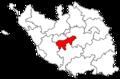 Locator map of the canton de La Roche-sur-Yon-II (in Vendée).png