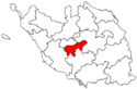 Locator map of the canton de La Roche-sur-Yon-II (in Vendée).png