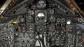 Lockheed SR-71A Blackbird, National Museum of the United States Air Force, Wright-Patterson Air Force Base, near Dayton, Ohio, USA, forward cockpit, instrument panel detail.png