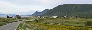 Vågan - Landscape in northern Vågan.