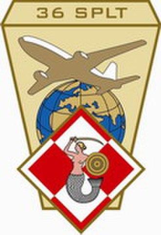 36th Special Aviation Regiment - 36 SPLT Logo