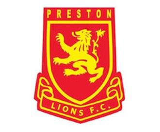 Preston Lions FC - Image: Logo club preston 006