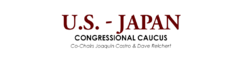 Logo for the U.S.-Japan Congressional Caucus