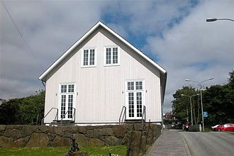 Løgting - Løgting house in Thorshavn, built in 1856.
