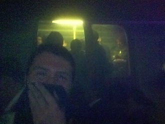 2005 in rail transport - Smoke and confusion in the London Underground after the bomb blast.