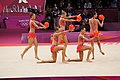 London 2012 Rhythmic Gymnastics - Italy 03.jpg