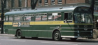 London Country Bus Services - AEC Swift in St Albans in May 1976