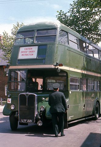 London Country Bus Services - AEC Regent III RT in 1972
