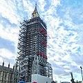 Lontoo Big Ben korjauksessa 14.12.2017.jpg