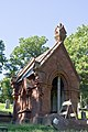 Looking NW - Linthicum Mausoleum - Oak Hill Cemetery - 2013-09-04.jpg