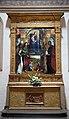 Lorenzo costa, Madonna in trono e santi, 1497, 01.JPG