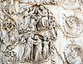 Lorenzo maitani e aiuti, scene bibliche 3 (1320-30) 07 visitazione epifania 2.JPG
