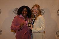 Loretta Devine and Jeri Ryan, May 2003 (3).jpg