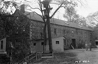 Lorillard Tobacco Company - Lorillard Snuff Mill, built 1840, photo 1936