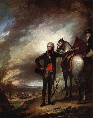 Louis Marc Antoine de Noailles - Louis-Marie, Vicomte de Noailles, painted by Gilbert Stuart, 1798. Metropolitan Museum of Art