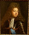 Louis Mqu. Dauphin de France, French, anonymous school of Mignard, 1700s, oil on canvas - Middlebury College Museum of Art - Middlebury, VT - DSC08158.jpg