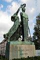 Louis Van Houtte standbeeld in Gentbrugge door Paul De Vigne 15-10-2009 15-10-06.JPG