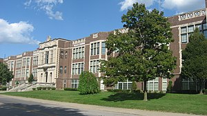 Louisville Male High School - Third site (1915–1991) in 2012