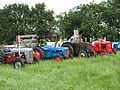 Lower Withington Rose Day - tractors in waiting - geograph.org.uk - 1392898.jpg