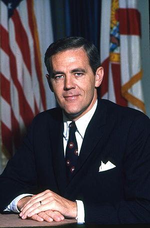 Ray C. Osborne - Official portrait of Lt. Gov. Osborne circa 1969–71