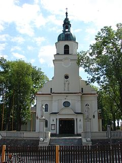 Ludzisko Village in Kuyavian-Pomeranian Voivodeship, Poland