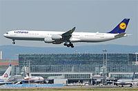 D-AIHH - A340 - Lufthansa