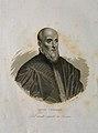 Luigi Cornaro. Line engraving by F. Clerici. Wellcome V0001291.jpg