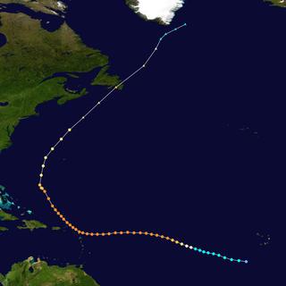 Meteorological history of Hurricane Luis