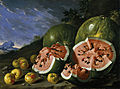 Luis Melendez, Still Life with Watermelons and Apples, Museo del Prado, Madird.jpg