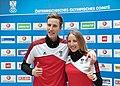 Luis Stadlober Teresa Stadlober - Team Austria Winter Olympics 2018.jpg