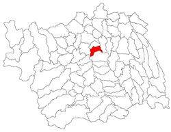Vị trí của Luizi-Calugara