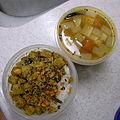 Lunchbox-20101109 Radidh rasam, potato poryal (5158863719).jpg