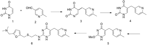 Lupitidine synthesis.png