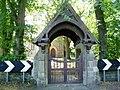 Lych Gate at St.Johns Church Longhirst - geograph.org.uk - 1439456.jpg