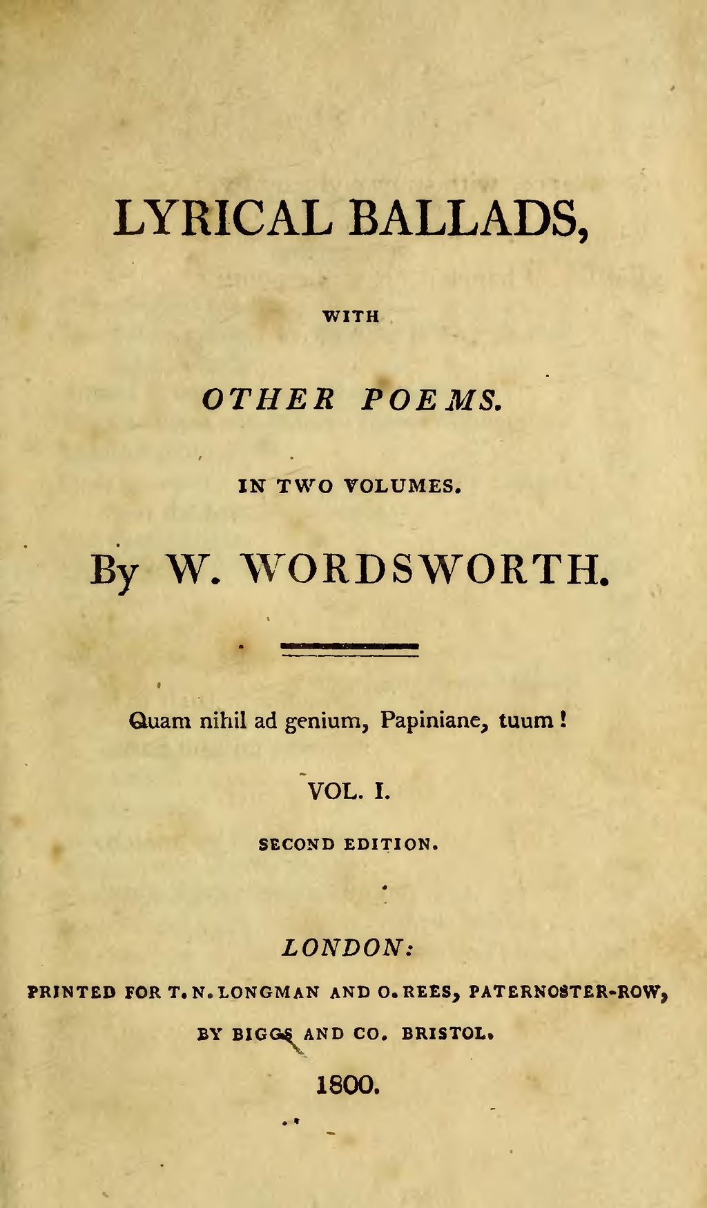 Page:Lyrical ballads, Volume 1, Wordsworth, 1800.djvu/5 ...