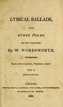 Wordsworth lyrical ballads online dating 4