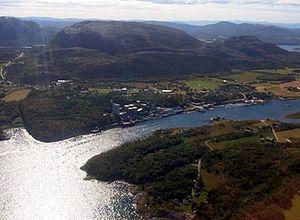 Bjugn - Image: Lysoysund i bjugn