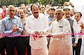 M. Venkaiah Naidu and the Minister of State for Drinking Water & Sanitation, Shri Ramesh Chandappa Jigajinagi inaugurating the Sanitation Technology Exhibition, in New Delhi.jpg